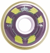 Hyper Trinity X-Flex 74A Inline Hockey Wheel - Purple/Yellow