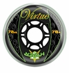 Hyper Virtue 76A Inline Hockey Wheel - Black