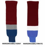 Inaria Colorado Avalanche Knit Hockey Socks