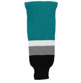 Inaria San Jose Sharks Knit Hockey Socks