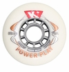Kryptonics Powerplay Indoor 78A Inline Hockey Wheel - White