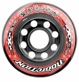 Labeda Addiction XXX 76A Roller Hockey Wheel - Red/Black