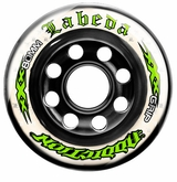 Labeda Addiction XXX 76A Roller Hockey Wheel - White/Green