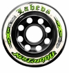 Labeda Addiction XXX 76A Inline Hockey Wheel - White/Green