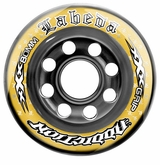 Labeda Addiction XXX 76A Inline Hockey Wheel - Yellow/Black