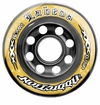 Labeda Addiction XXX 76A Roller Hockey Wheel - Yellow/Black