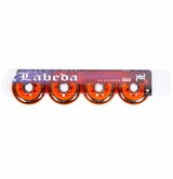 Labeda Addiction XXX 78A Roller Hockey Wheel - Black/Orange - 4 Pack