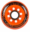Labeda Addiction XXX 78A Inline Hockey Wheel - Black/Orange