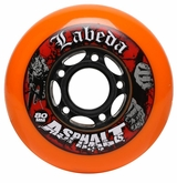 Labeda Asphalt Hard 80A Roller Hockey Wheel - Standard 608 Core
