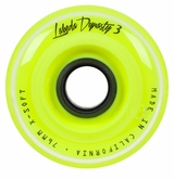 Labeda Dynasty III 74A X-Soft Signature Roller Hockey Wheel - Yellow