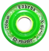 Labeda Dynasty III X-Soft 74A Roller Hockey Wheel - Green