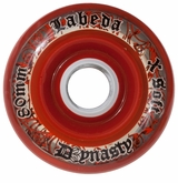 Labeda Dynasty III X-Soft 74A Inline Hockey Wheel - Red