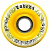 Labeda Dynasty III X-Soft 74A Inline Hockey Wheel - White/Yellow