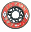 Labeda Fuzion X-Soft 74A Roller Hockey Wheel - Red - 608 Core