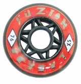 Labeda Fuzion X-Soft 74A Inline Hockey Wheel - Red - 608 Core