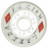 Labeda Fuzion X-Soft 74A Roller Hockey Wheel - White - 608 Core