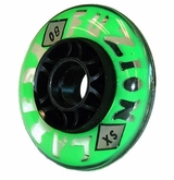 Labeda Fuzion X-Soft 74A Inline Hockey Wheels - Green