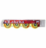 Labeda Gripper Medium 78A Inline Hockey Wheel - Yellow - 4 Pack