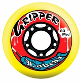Labeda Gripper Medium 78A Inline Hockey Wheel - Yellow/Black