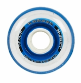 Labeda Gripper Millennium X-Soft 74A Roller Hockey Wheel - Clear/Blue