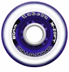 Labeda Gripper Millennium X-Soft 74A Roller Hockey Wheel - Clear/Purple