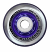 Labeda Gripper Millennium X-Soft 74A Roller Hockey Wheel - Clear/Purple - Mini 688 Core