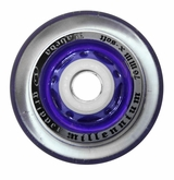 Labeda Gripper Millennium X-Soft 74A Inline Hockey Wheel - Clear/Purple - Mini 688 Core