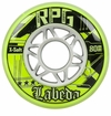 Labeda Gripper RPG X-Soft 74A Inline Hockey Wheel - Neon Yellow/White