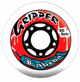 Labeda Gripper Soft 76A Roller Hockey Wheel - White/Black