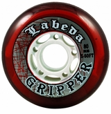 Labeda Gripper X-Soft 74A Inline Hockey Wheel - Red