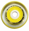 Labeda Gripper X-Soft 74A Millennium Inline Hockey Wheel - Clear/Yellow - Mini 688 Core