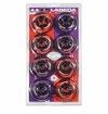 Labeda Lazer 82A Inline Hockey Wheel - Clear/Black - 8 Pack
