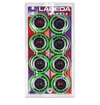 Labeda Shooter Medium 78A Inline Hockey Wheel - Green - 8 Pack