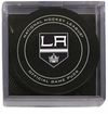 Los Angeles Kings Official NHL Game Puck with Cube