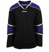 Los Angeles Kings Old Reebok Edge Gamewear Uncrested Junior Hockey Jersey