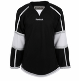Los Angeles Kings Reebok Edge Gamewear Uncrested Junior Hockey Jersey