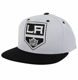 Los Angeles Kings Reebok Face-Off Men's Flat Brim Snapback