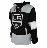 Los Angeles Kings Reebok Face-Off Team Jersey Sr. Hooded Sweatshirt