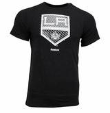 Los Angeles Kings Reebok Faceoff Carbon Logo Sr. Short Sleeve Tee