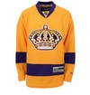 Los Angeles Kings Vintage Reebok Edge Premier Adult Hockey Jersey