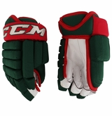 Minnesota Wild CCM 3 Pro Stock Hockey Gloves