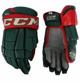 Minnesota Wild CCM 3 Pro Stock Hockey Gloves - Coyle