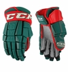Minnesota Wild CCM Crazy Light Pro Stock Hockey Gloves