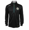 Minnesota Wild Reebok Baselayer Quarter Zip Pullover Performance Jacket
