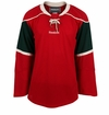 Minnesota Wild Reebok Edge Gamewear Uncrested Adult Hockey Jersey