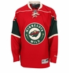 Minnesota Wild Reebok Edge Premier Youth Hockey Jersey