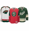 Minnesota Wild Reebok Edge Jr. Premier Crested Hockey Jersey