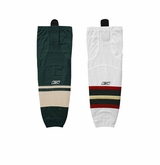 Minnesota Wild Reebok Edge SX100 Intermediate Hockey Socks