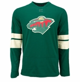 Minnesota Wild Reebok Face-Off Jersey Sr. Long Sleeve Shirt