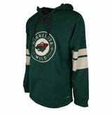 Minnesota Wild Reebok Face-Off Team Jersey Sr. Hooded Sweatshirt